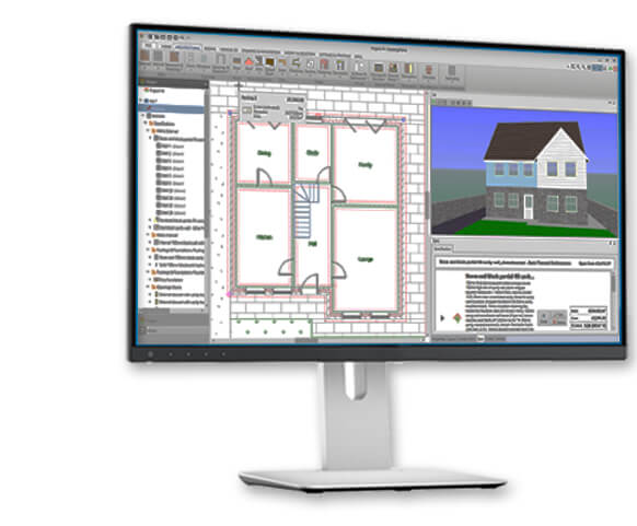 Design buildingworks cad software for builders and for Building construction design software