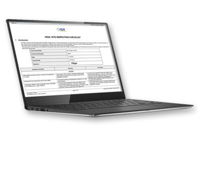 h&s site inspection checklist health and safety software