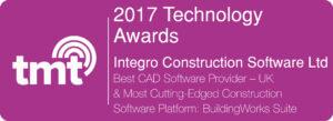 award winning building software - 2017 Technology Awards