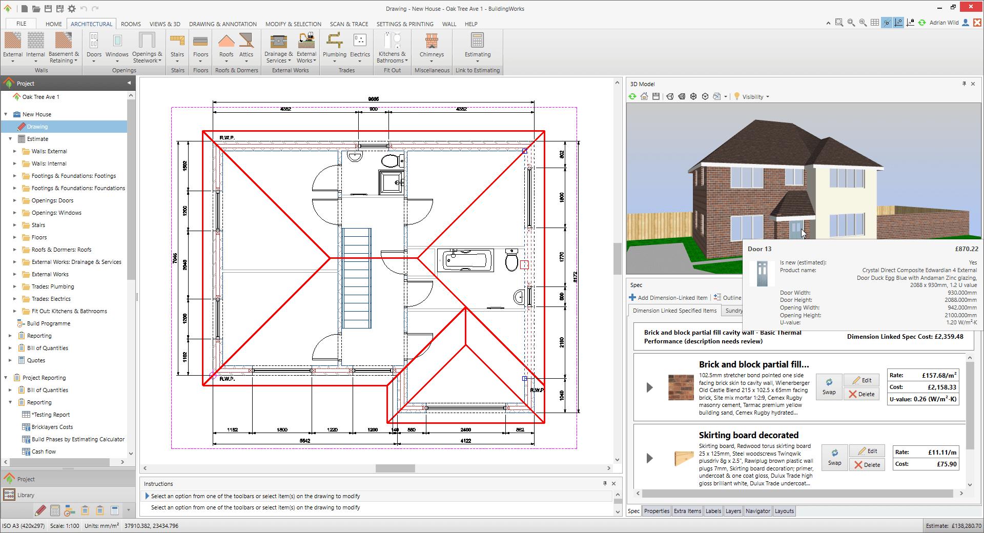 BuildingWorks with spec copy