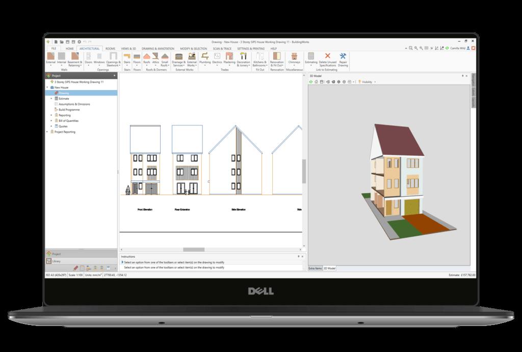 Building Plan Cad Software For Builders Buildingworks